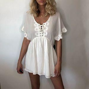 {Amuse Society} NWT peasant top/dress